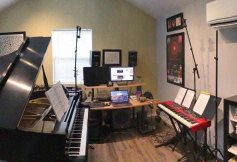 Virtual piano studios